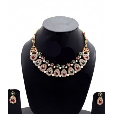 Deals, Discounts & Offers on Earings and Necklace - Manukunj Designer Necklace Set offer