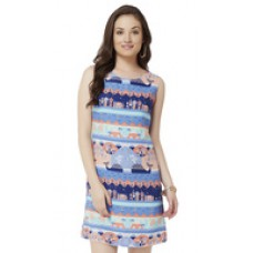 Deals, Discounts & Offers on Women Clothing - Moby Sleeveless Shift Dress offer