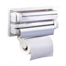 Deals, Discounts & Offers on Accessories - And Retails Triple Paper Dispenser For Cling Film Wrap Aluminium Foil & Kitchen Roll   264 Ratings  90 Rev