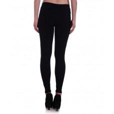 Deals, Discounts & Offers on Women Clothing - Hightide Black Cotton Lycra Jeggings offer