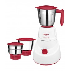 Deals, Discounts & Offers on Home & Kitchen - Maharaja Whiteline Livo Mixer Grinder White and Maroon at 65% OFF