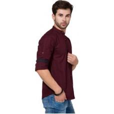Deals, Discounts & Offers on Men Clothing - Highlander Men's Solid Casual Shirt offer