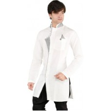Deals, Discounts & Offers on Men Clothing - New Looks Solid Men's Pathani Kurta offer