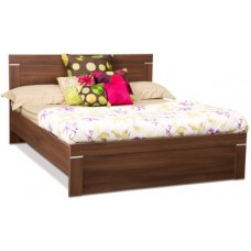 Deals, Discounts & Offers on Furniture - Debono Solitaire Engineered Wood Queen Bed