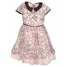 Deals, Discounts & Offers on Kid's Clothing - Flat 50% off on Euphoria Pink Net Frock