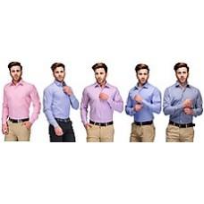 Deals, Discounts & Offers on Men Clothing - Koolpals Combo Of 5 Men Shirts