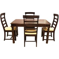 Deals, Discounts & Offers on Home Appliances - Woodpecker Mcdonald Solid Wood Dining Set