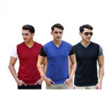 Deals, Discounts & Offers on Men Clothing - Flat 52% off on Vicbono PO3 Sleeveless Sweater