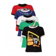 Deals, Discounts & Offers on Kid's Clothing - Goodway Attitude Themed Pack of 5 Cool T-Shirts For Boys