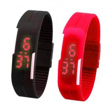 Deals, Discounts & Offers on Baby & Kids - Flat 80% off on Vencer Stella Multicolour LED Band Watch