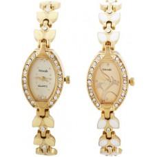 Deals, Discounts & Offers on Women - Telesonic GCI-032-037G Desire Series Analog Watch
