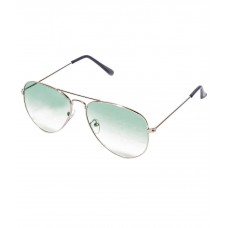 Deals, Discounts & Offers on Accessories - Barbarik Blue Medium Aviator Unisex Sunglasses