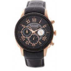 Deals, Discounts & Offers on Men - Titan 1489KL01 Orion Analog Watch For Men