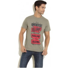 Deals, Discounts & Offers on Men Clothing - Riot Jeans Printed Men's Round Neck T-Shirt