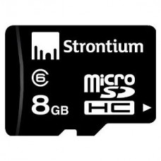 Deals, Discounts & Offers on Mobile Accessories - Strontium 8GB MicroSD Memory Card Class-6