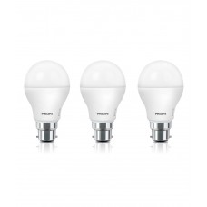 Deals, Discounts & Offers on Home Decor & Festive Needs - Philips AceSaver 9W 825lm B22 6500K A60 LED Bulbs Pack of 3 at 46% offer