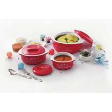 Deals, Discounts & Offers on Home & Kitchen - Cello Hot Meal Casserole Set at 58% offer