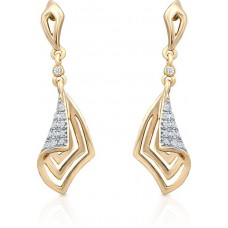 Deals, Discounts & Offers on Women - Oviya Crystal Alloy, Brass Drop Earring at 50% offer