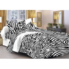 Deals, Discounts & Offers on Home Decor & Festive Needs - Story @ Home Cotton Animal Double Bedsheet at 42% offer