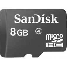 Deals, Discounts & Offers on Mobile Accessories - SanDisk Basic 8 GB MicroSDHC Class 4 20 MB/s Memory Card at 11% offer
