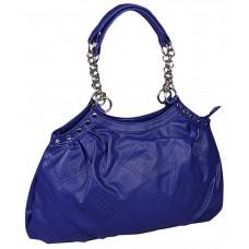 Deals, Discounts & Offers on Women - Butterflies Blue P.U. Shoulder Bag at 50% offer