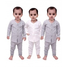 Deals, Discounts & Offers on Baby & Kids - Sand-effy Cotton Blend Thermal Wear / Warmer For Kids - Pack of 3 at 54% offer