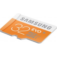 Deals, Discounts & Offers on Mobile Accessories - SAMSUNG Evo 32 GB MicroSDHC Class 10 48 MB/s Memory Card at 22% offer