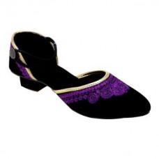 Deals, Discounts & Offers on Foot Wear - Flat 40% off on Forever Footwear Ethnic Purple Sandals