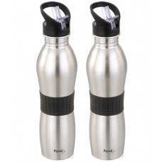 Deals, Discounts & Offers on Home Appliances - Flat 45% off on Pigeon Playboy Silver Water Bottle