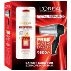 Deals, Discounts & Offers on Personal Care Appliances - Flat 58% off on L'Oreal Paris Total Repair 5 Shampoo Hair Dryer