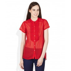 Deals, Discounts & Offers on Women Clothing - Flat 60% off on Solid Shirt