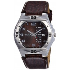 Deals, Discounts & Offers on Men - Flat 21% off on Timex Fashion Analog Brown Dial Watch