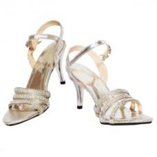Deals, Discounts & Offers on Foot Wear - Flat 55% off on Rialto Silver Heel Sandal