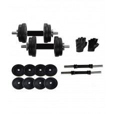 Deals, Discounts & Offers on Sports - Flat 59% off on Two Dumbell Rods And One Pair Of Gym Gloves