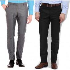 Deals, Discounts & Offers on Men Clothing - Flat 60% off on AD & AV Regular Fit Men's Trousers