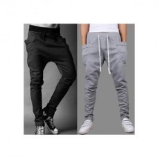 Deals, Discounts & Offers on Men Clothing - Flat 69% off on Ribbed Track Pants