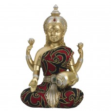 Deals, Discounts & Offers on Home Decor & Festive Needs - Flat 60% off on Lovely Gold Finish Laxmi Idol Showpiece