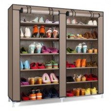 Deals, Discounts & Offers on Furniture - Flat 50% off on FOLDING SHOE RACK  LAYERS DOUBLE