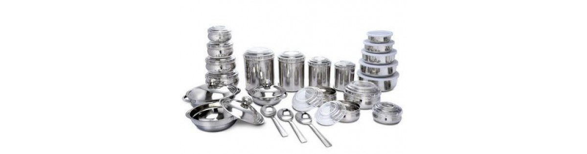 Offer On 43 Pcs Stainless Steel Storage Set 1999 Only Home