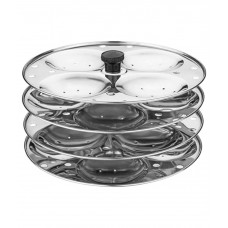 Deals, Discounts & Offers on Home Appliances - Flat 19% Offer on Magik Idly Stand 3 Plates