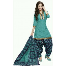 Deals, Discounts & Offers on Women Clothing - Flat 59% Offer on Fashion Valley Cotton Printed, Solid Salwar Suit Dupatta Material