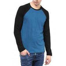 Deals, Discounts & Offers on Men Clothing - IZINC Men's Raglan Neck Full Sleeve Cotton T-Shirt