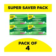 Deals, Discounts & Offers on Women - Whisper Ultra Sanitary Pads Xtra Large Wings 30 pc Pack-Pack of 4