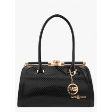 Deals, Discounts & Offers on Women - Flat 45% off on Black Polyurethane Handbag