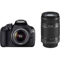 Deals, Discounts & Offers on Cameras - Canon 1200D DSLR Camera Dual Lens Kit Just Rs.19,990