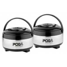 Deals, Discounts & Offers on Home & Kitchen - Flat 60% off on Pogo Appy Stainless Steel Casserole Gift Set