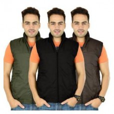 Deals, Discounts & Offers on Men Clothing - Flat 71% off on sleeveless Jacket