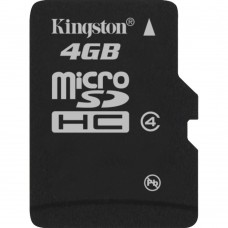 Deals, Discounts & Offers on Mobile Accessories - Kingston 4GB microSDHC Class 4 Memory Card