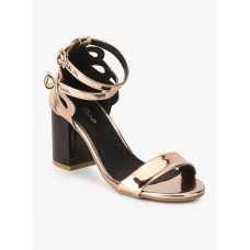 Deals, Discounts & Offers on Foot Wear - Flat 35% off on Bronze Metallic Sandals