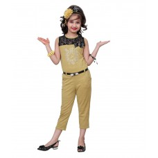Deals, Discounts & Offers on Kid's Clothing - Flat 47% off on Aarika Girls Party Wear Jumpsuit